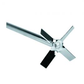 Agitador Ac Inoxde 4 helices L:40cm y Diam helice 5cm