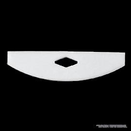 Agitador PTFE borde cuadrado ancho 90mm. alto 28 mm (no incluye varilla)