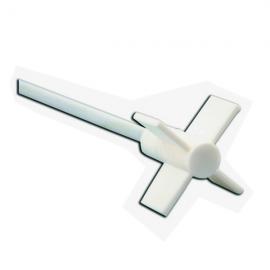 Agitador PTFE de 4 helices L:35cm y Diam helice 6.5cm