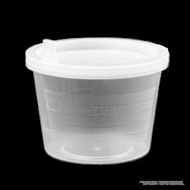 Frasco (sin tapa) Sin esterilizar. 120 ml