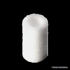 Frita cilindirca 13 x 22 mm. porosidad 2
