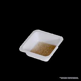Navecillas plastica p/pesar o diluir. 7 ml. 44x44 mm. bolsa 250 pcs