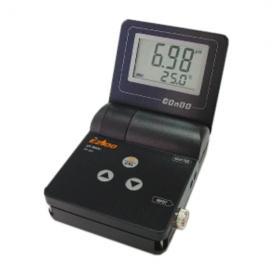 pHmetro portatil tipo oyster 0-14.00. incluye electrodo. maletin y buffer