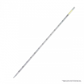 Pipeta serologica desechable env. Individual 1 ml. algod—n amarillo. Esteril