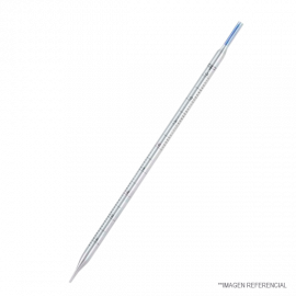 Pipeta serologica desechable env. Individual 5 ml. algod—n azul. Esteril