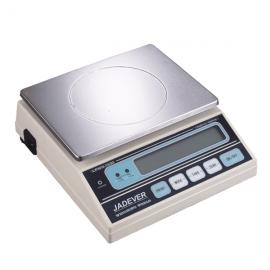BALANZAS DE LABORATORIO De lectura digital instantanea controlada por microprocesador. doble escala 300 gr : 0.02 gr y 750 gr :