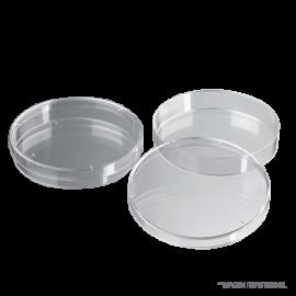 Placa petri plastica 90 mm. ESTERIL por caja de 500 unds