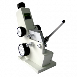 Refractometro ABBE Mod. 2WAJ. rango 1300-1700 ND/0.0005. rango azucar 0-95