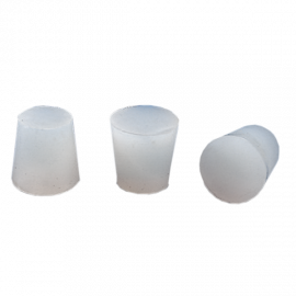 Tapón de silicona diam sup 16 mm. diam inf 13 mm