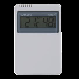 Termohigrometro digital de uso en laboratorio con pila alcalina. -50-70 C. 20-100 hr