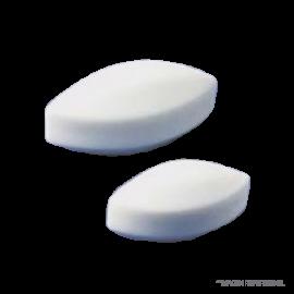 barra magnetica ovalada 40 x 13 mm