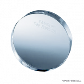 Visor vidrio borosilicato. diam x espesor en mm. 50 x 10. apertura inspeccion 35 mm. presion m‡xima permisible 360 psi