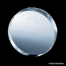 Visor vidrio borosilicato. diam x espesor en mm. 125 x 15. apertura inspeccion 100 mm. presion m‡xima permisible 150 psi
