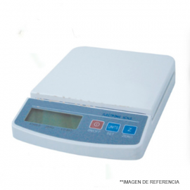 Balanza digital electronica - economica - 2500 gr - 0.5 gr. adaptador y pilas