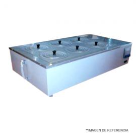 Baño de agua 19L 1500 W. +37 100C. digital. controlado por microprocesador