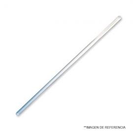 Bagueta de vidrio d:6 mm. L:25 cm