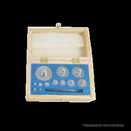 Caja de Pesas de 1 a 500 gr (12 pesas)