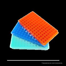 Gradilla para microtubos de 1.5 y 0.5 ml -- 96 posiciones