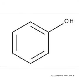 Fenol en cristales ACS 99. 500 Gr.