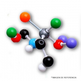 Set de Modelos Moleculares p.Junior p. 75 esferas