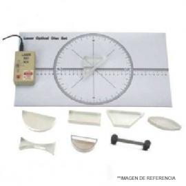 Set de Optica demostrativo 7 piezas
