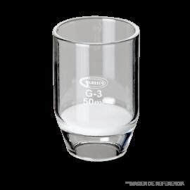 Crisol filt. 50 ml. poro. 4
