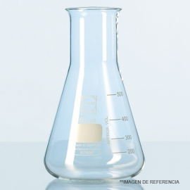 Matraz erlenmeyer ancho grad. 500 ml