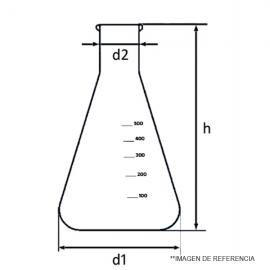 Matraz erlenmeyer ang. Econ. 250 ml