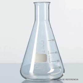 Matraz erlenmeyer angost grad. 50 ml