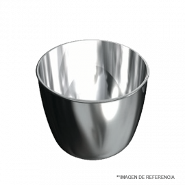 Crisol de Zirconio. 42x49 mm. 50 ml