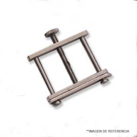 Pinza Hoffman economica. 25 mm
