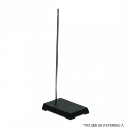 Soporte Univ. base rectangular 70 cm alto