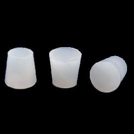 Tapón de silicona diam sup 18 mm. diam inf 15 mm