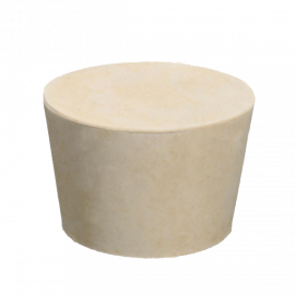 Tapon goma solida 0: 17x13x24 (161 unid x kilo)