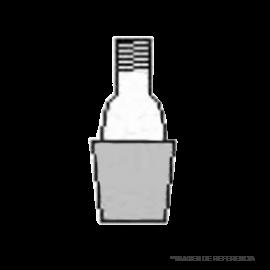 Rosca GL 14- NS 24/29. oring y tapa