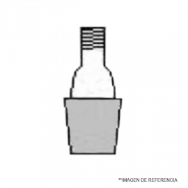 Rosca GL 18- NS 24/40. oring y tapa