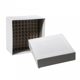 Caja criogenica cardboard. 2 p. y 100 posiciones . -196 a 121C