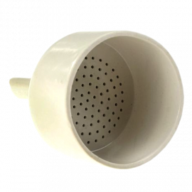 Embudo buchner porcelana 110 mm. para papel de 90 mm diam.