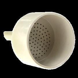 Embudo buchner porcelana 125 mm. para papel de 110 mm diam.