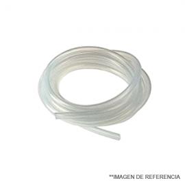 Manguera de silicona. multiples usos . especial p/refrigerantes mt. 5X8 Minimo 5 mt.