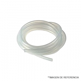 Manguera de silicona. multiples usos . especial p/refrigerantes mt. 7X10 Minimo 5 mt.