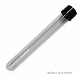Tubo ensayo 18*180mm con tapa rosca pp Boro 3.3