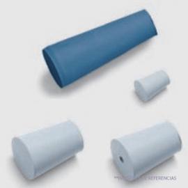Tapón cónico de goma para butirómetro abertura. 9x13x20 mm