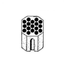 Contenedor PARA ROTOR 01624: para tubos 17 X 5 ML/ (13 X 75mm)