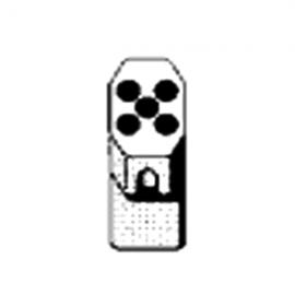 Contenedor PARA ROTOR 01624: para tubos 5 X 9 ML/ 14 X 100 mm