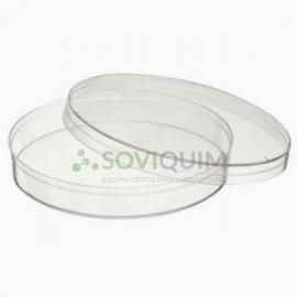 Placa Petri plastica 150mmx15mm, EO., BOLSA DE 10 unidades