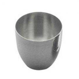 Crisol de Nickel. 44.5 mm diametro superior X 50.8 mm. aprox 50ml