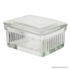 Cubeta p/20 portaobjetos con separaciones