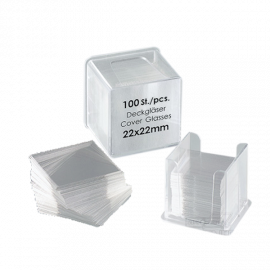 Cubreobjeto rectangular 24x32 mm (100 un.)